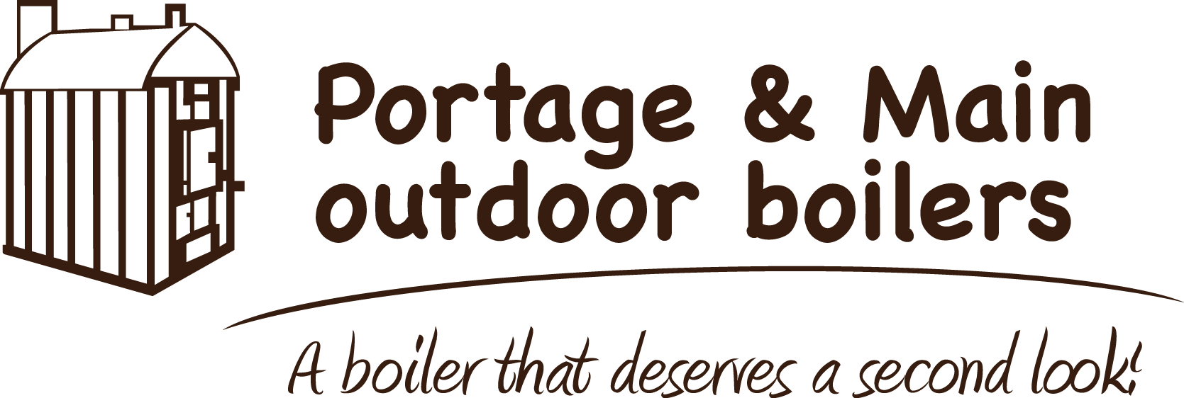 Portage and Main Outdoor Boilers logo