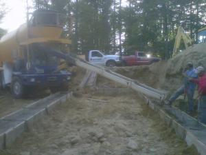 Site Work in Progress